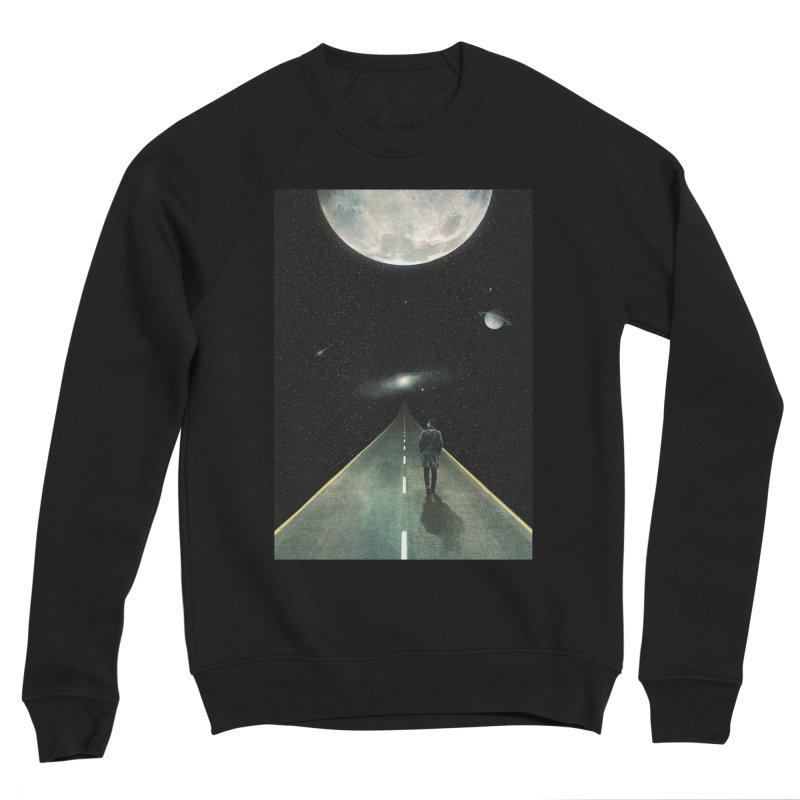 Road To Unknown Men's Sponge Fleece Sweatshirt by nicebleed