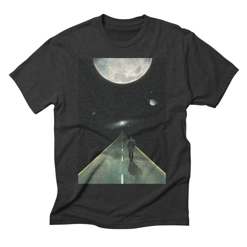 Road To Unknown Men's Triblend T-Shirt by nicebleed