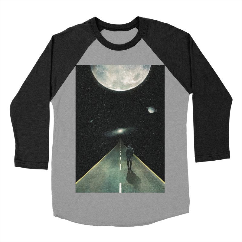 Road To Unknown Men's Baseball Triblend Longsleeve T-Shirt by nicebleed