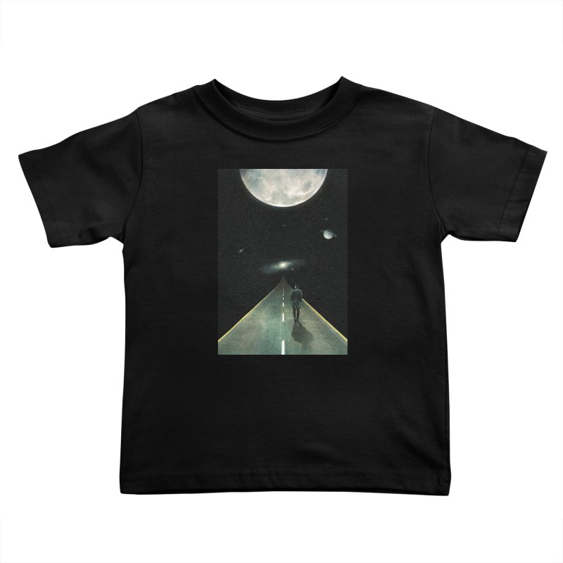 Road To Unknown Kids Toddler T-Shirt by nicebleed