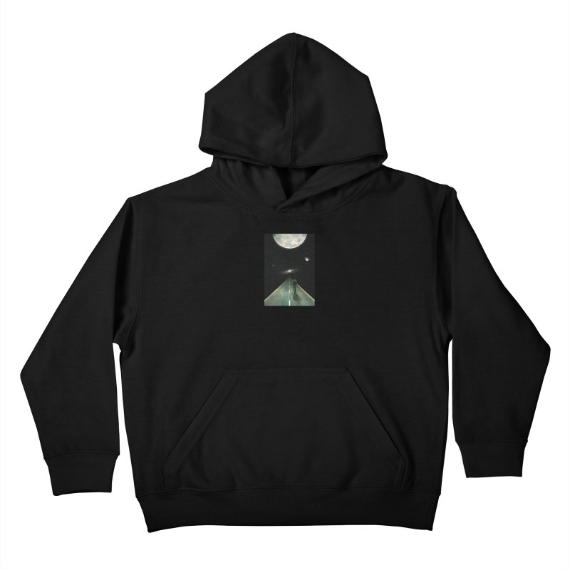 Road To Unknown Kids Pullover Hoody by nicebleed
