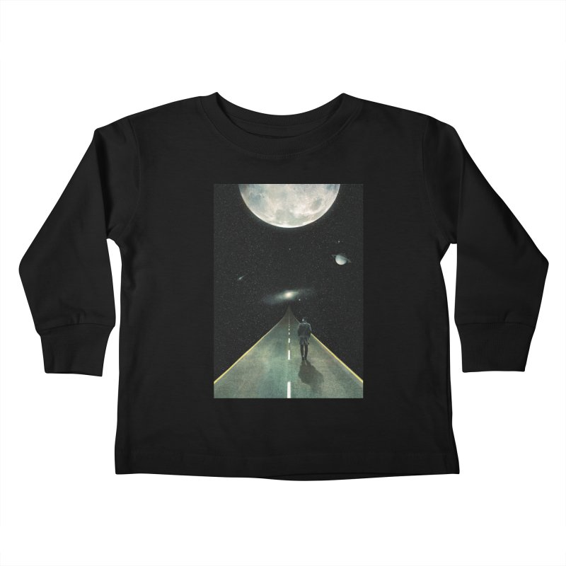 Road To Unknown Kids Toddler Longsleeve T-Shirt by nicebleed