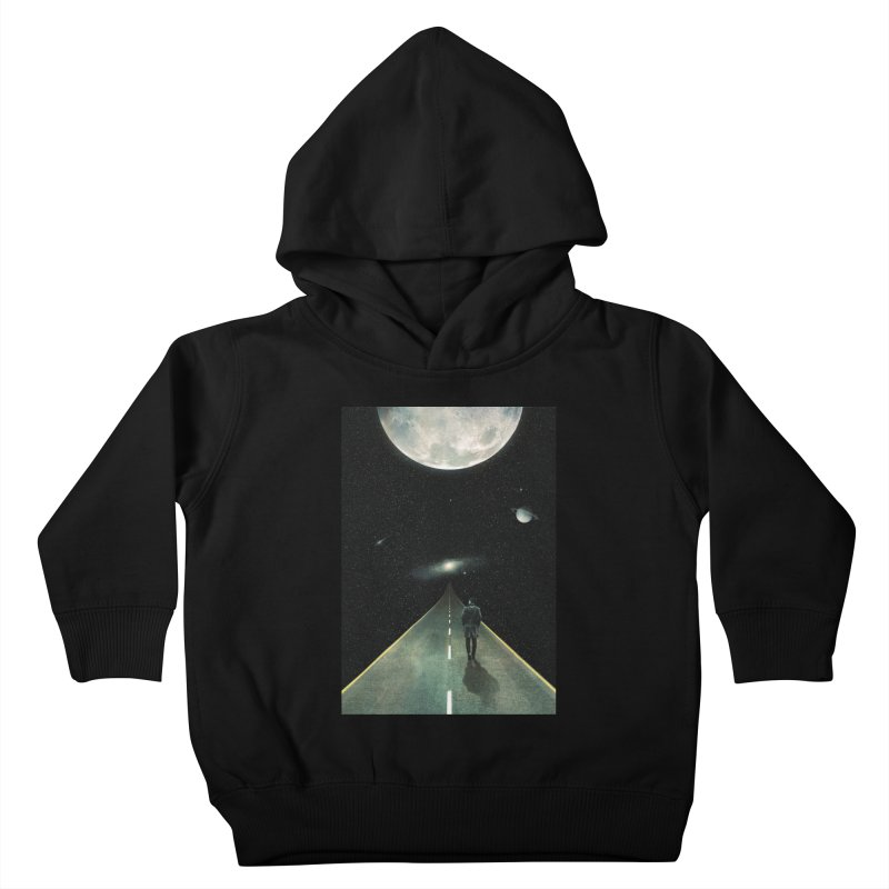 Road To Unknown Kids Toddler Pullover Hoody by nicebleed