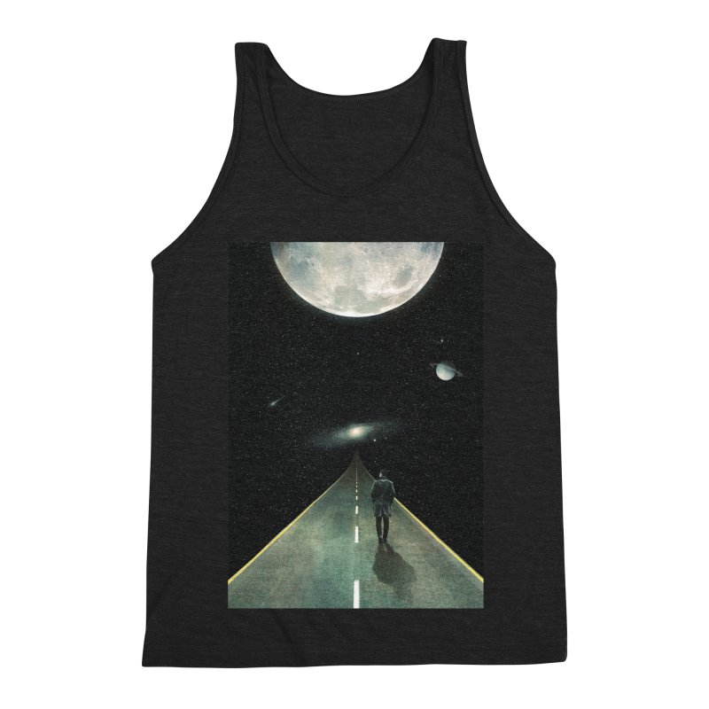 Road To Unknown Men's Triblend Tank by nicebleed