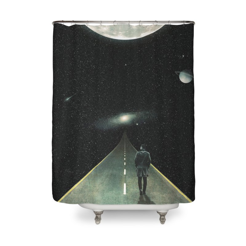 Road To Unknown Home Shower Curtain by nicebleed