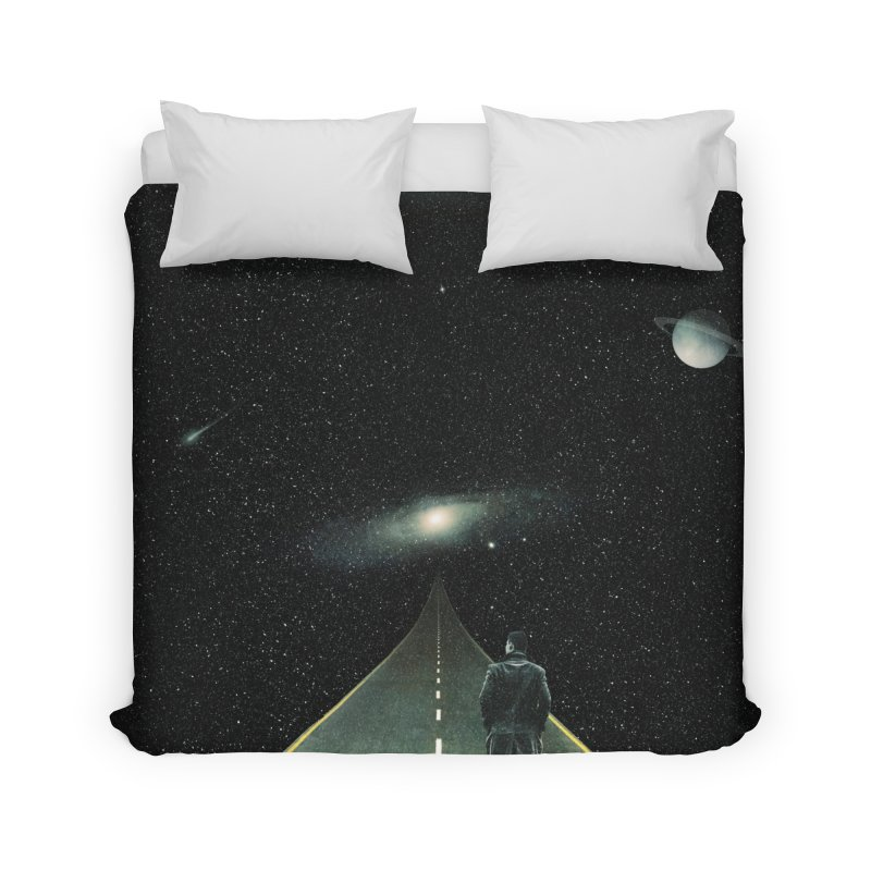 Road To Unknown Home Duvet by nicebleed