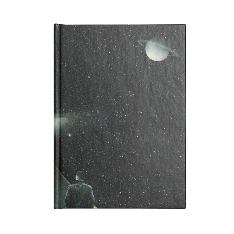 Road To Unknown Accessories Lined Journal Notebook by nicebleed