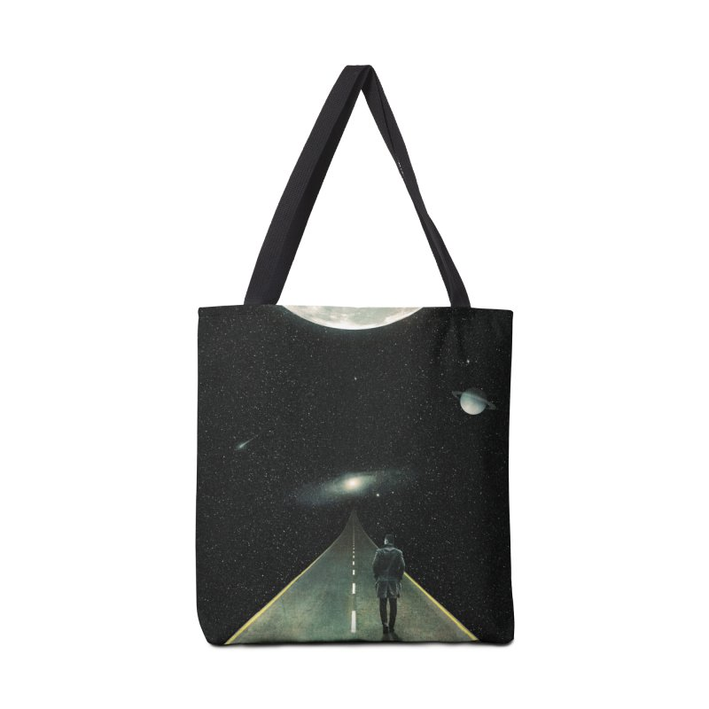 Road To Unknown Accessories Tote Bag Bag by nicebleed