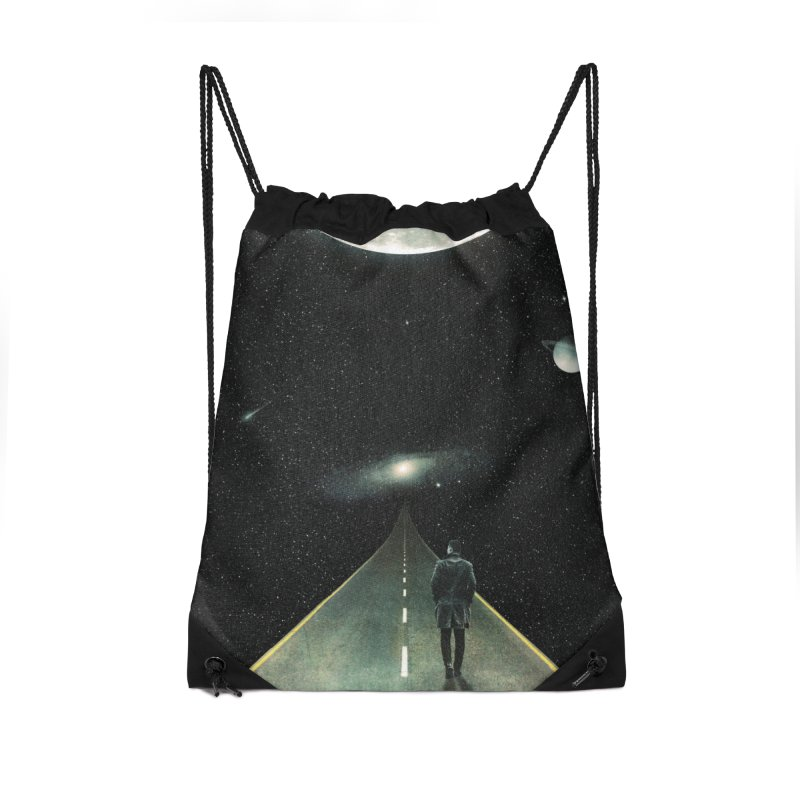 Road To Unknown Accessories Drawstring Bag Bag by nicebleed