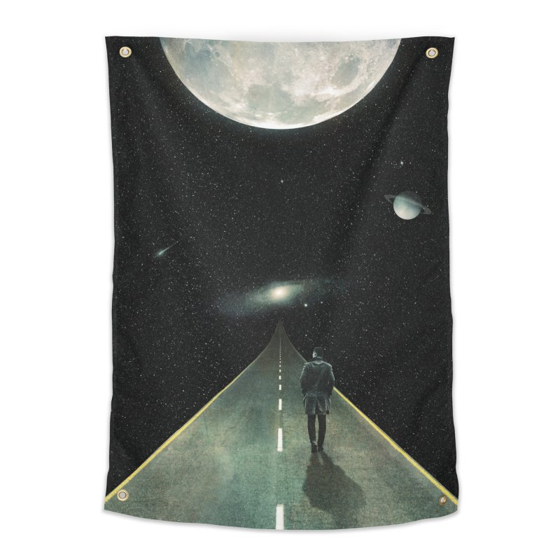 Road To Unknown Home Tapestry by nicebleed