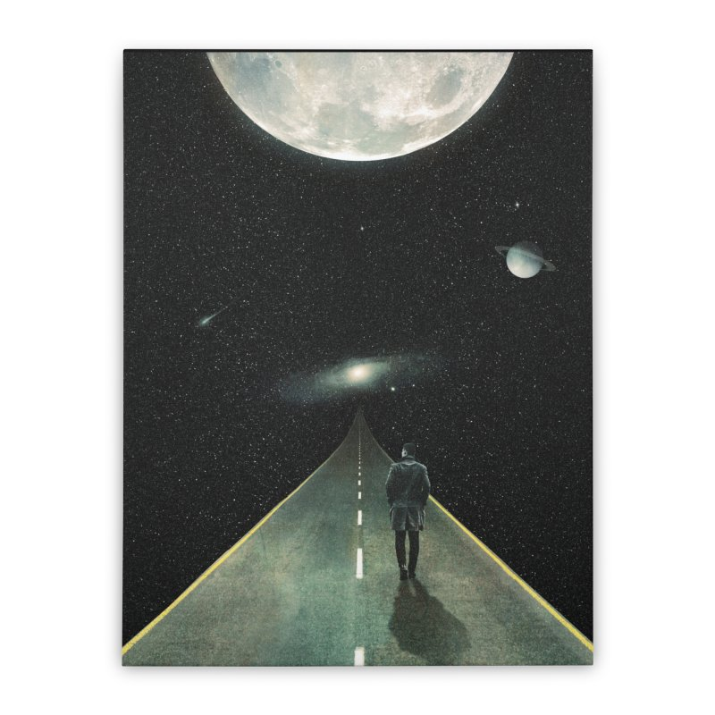 Road To Unknown Home Stretched Canvas by nicebleed