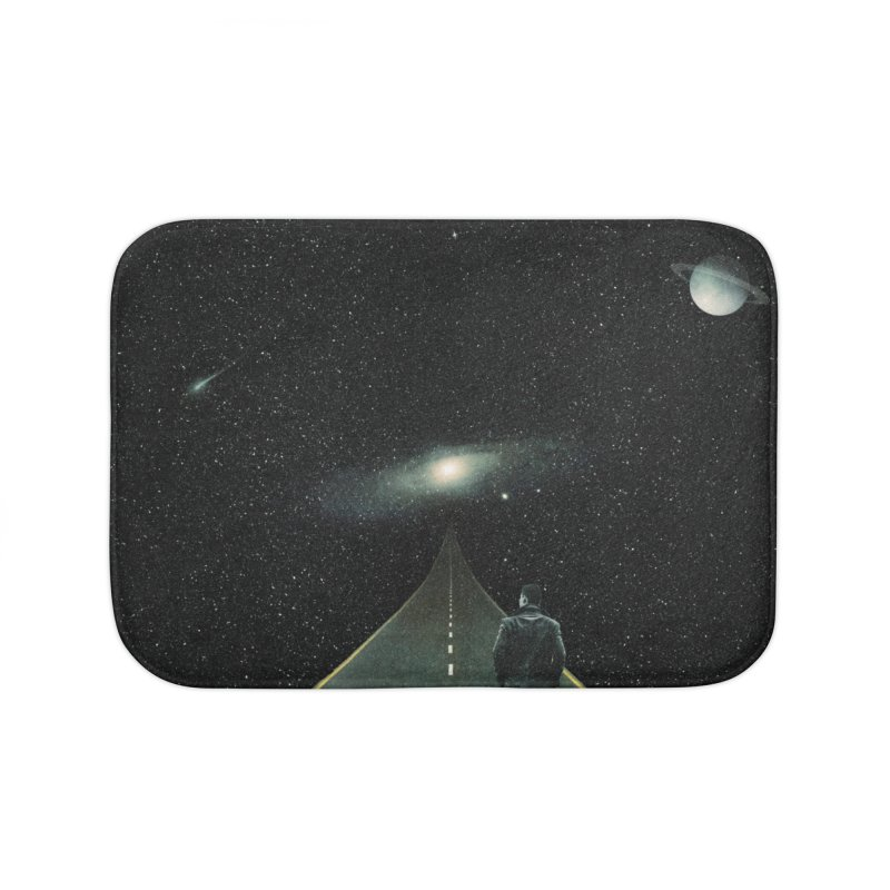 Road To Unknown Home Bath Mat by nicebleed