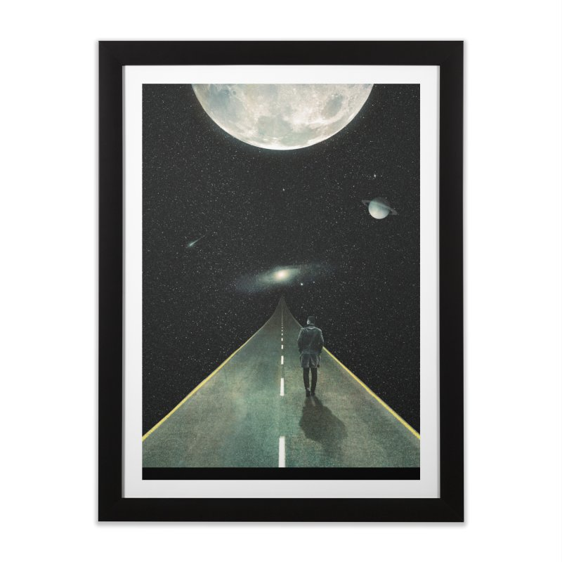 Road To Unknown Home Framed Fine Art Print by nicebleed
