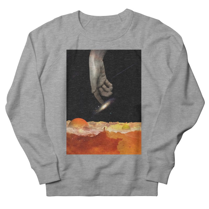 The Creation Men's French Terry Sweatshirt by nicebleed