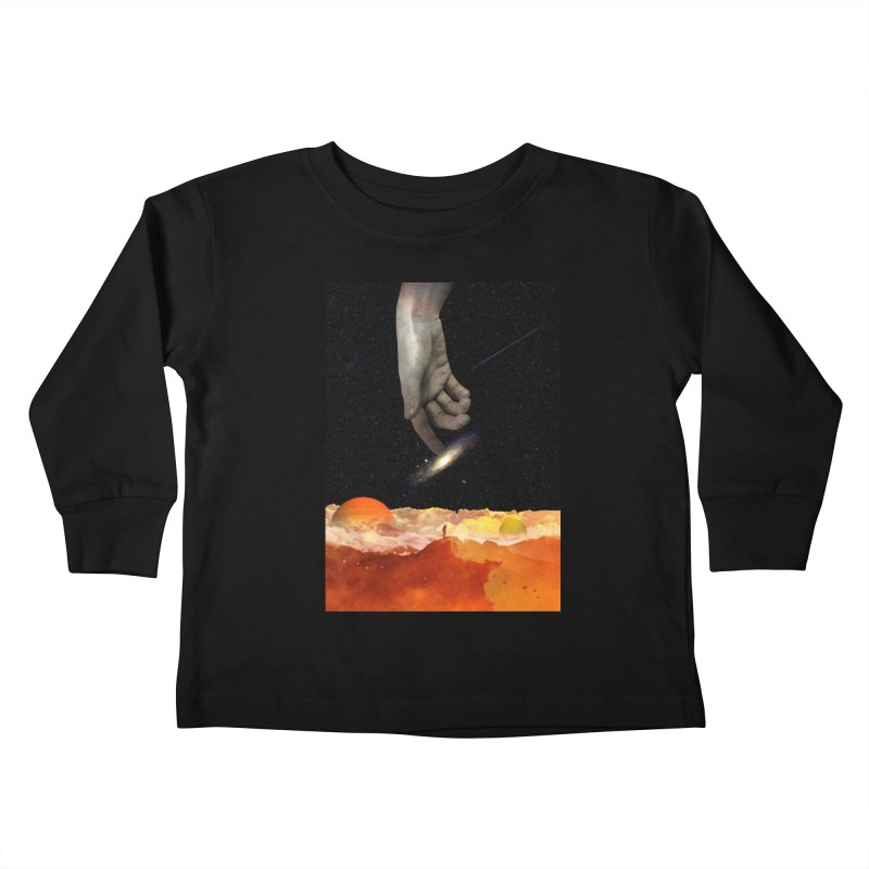 The Creation Kids Toddler Longsleeve T-Shirt by nicebleed