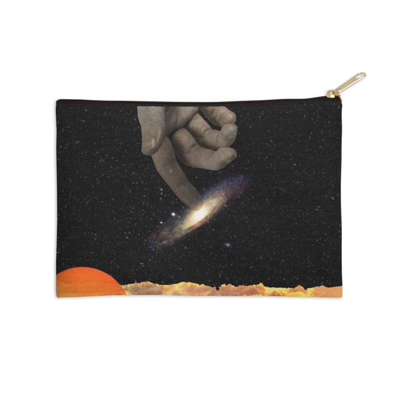 The Creation Accessories Zip Pouch by nicebleed