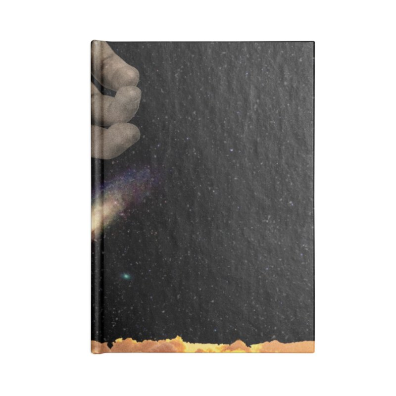 The Creation Accessories Lined Journal Notebook by nicebleed