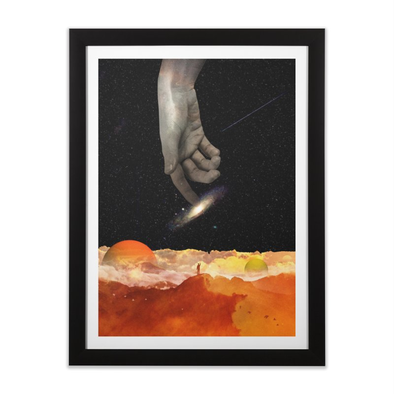 The Creation Home Framed Fine Art Print by nicebleed