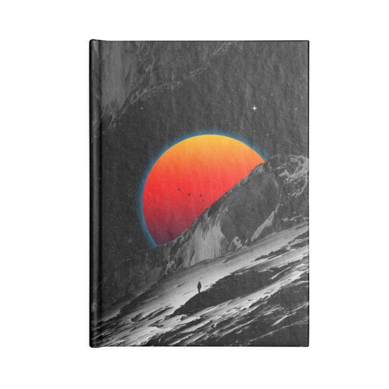 Slope Accessories Lined Journal Notebook by nicebleed