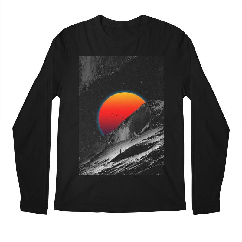Slope Men's Regular Longsleeve T-Shirt by nicebleed