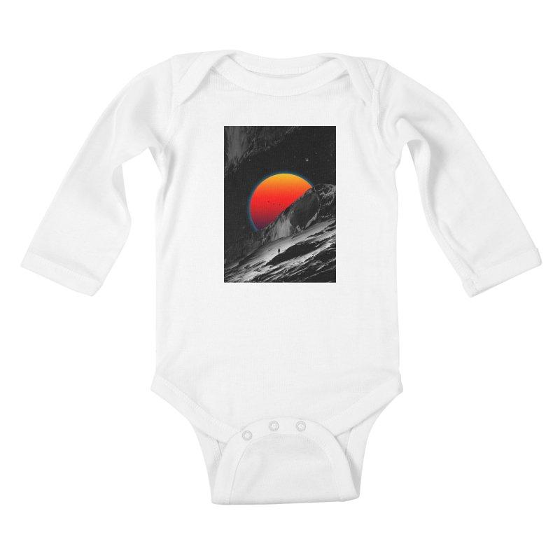 Slope Kids Baby Longsleeve Bodysuit by nicebleed