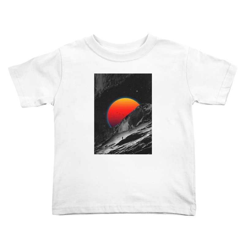 Slope Kids Toddler T-Shirt by nicebleed