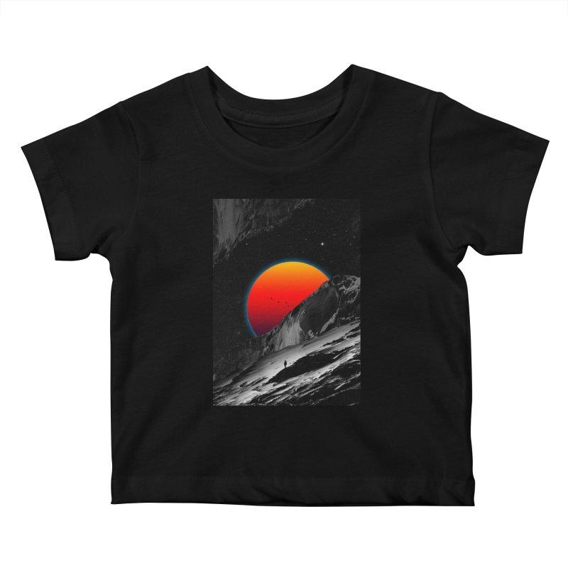 Slope Kids Baby T-Shirt by nicebleed