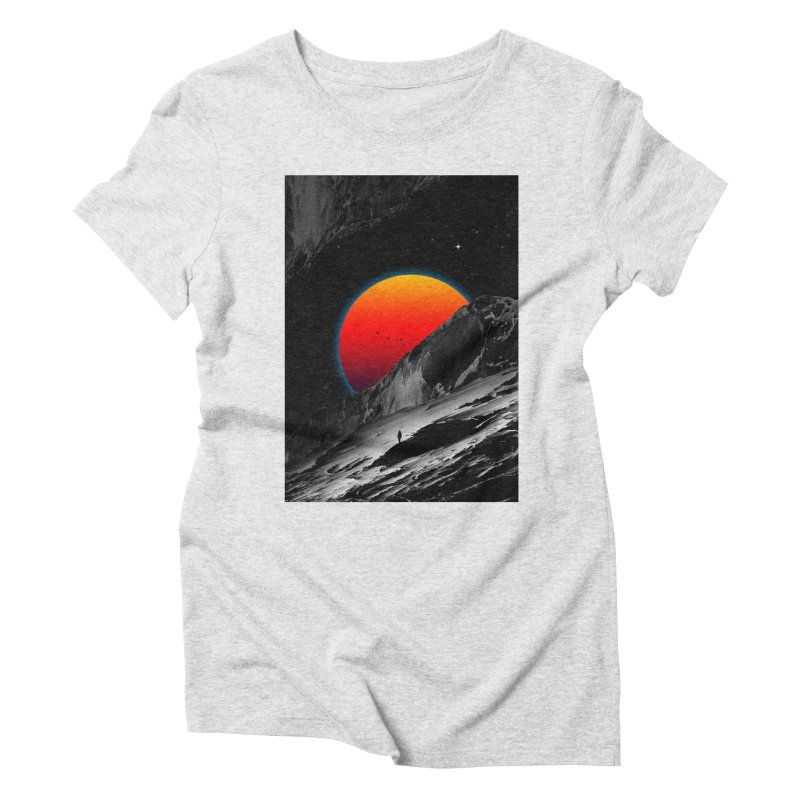 Slope Women's Triblend T-Shirt by nicebleed