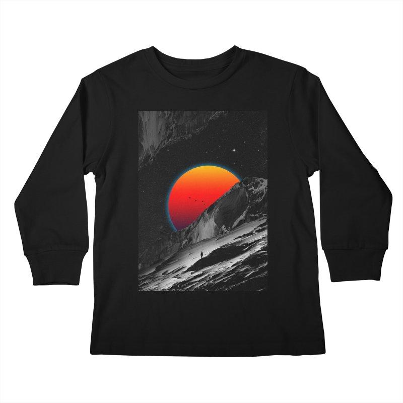 Slope Kids Longsleeve T-Shirt by nicebleed