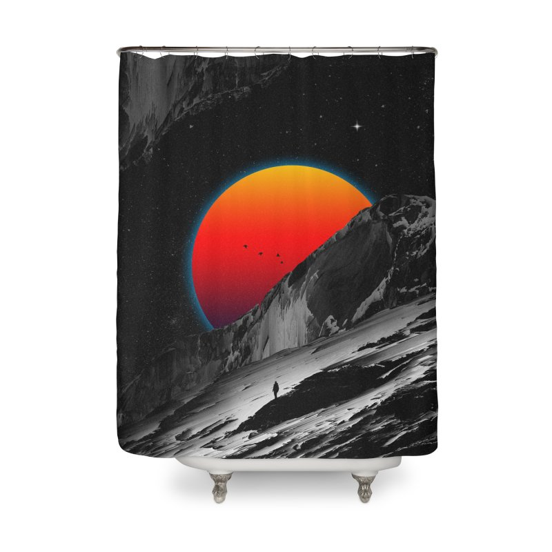 Slope Home Shower Curtain by nicebleed
