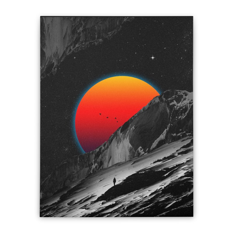 Slope Home Stretched Canvas by nicebleed