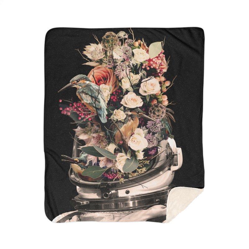Bloom Home Sherpa Blanket Blanket by nicebleed