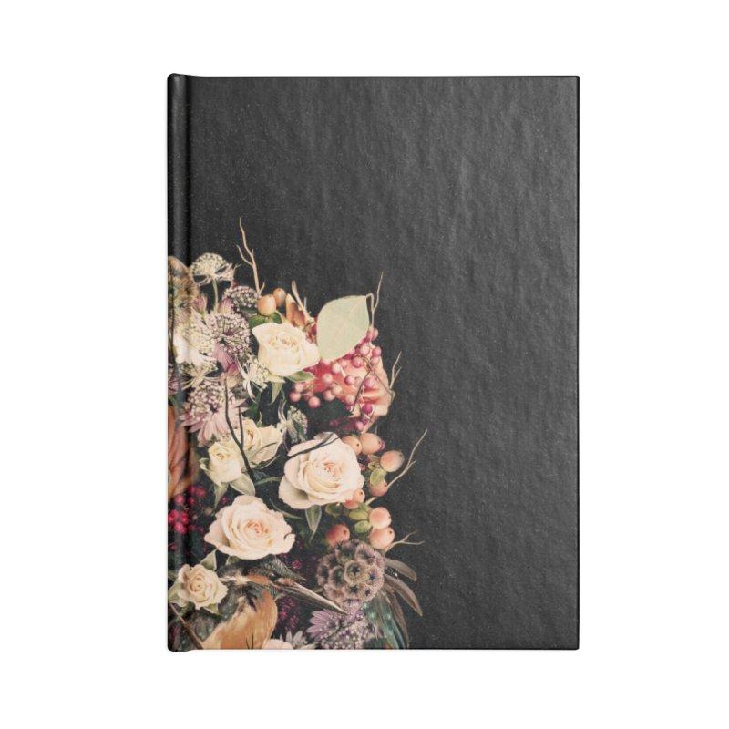 Bloom Accessories Lined Journal Notebook by nicebleed