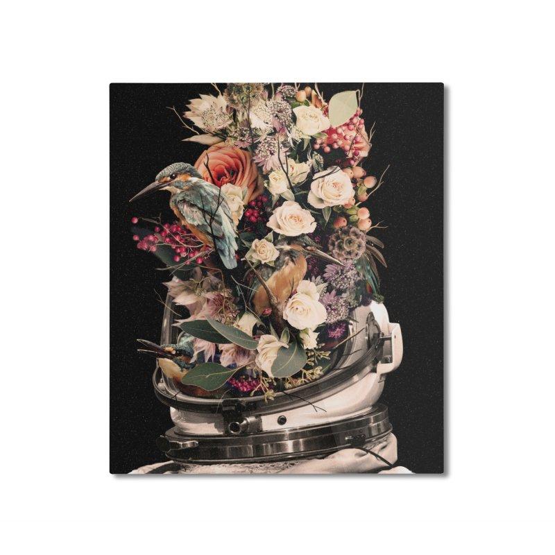 Bloom Home Mounted Aluminum Print by nicebleed