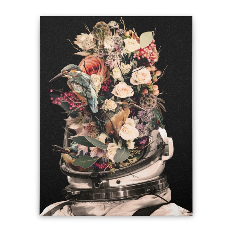 Bloom Home Stretched Canvas by nicebleed