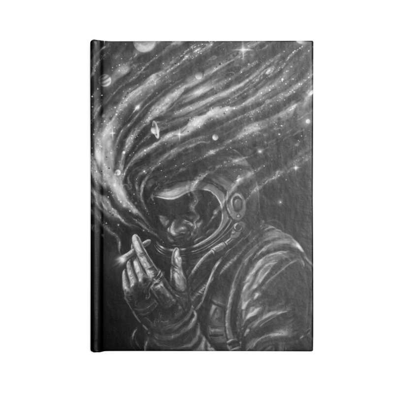 Space Joint Accessories Lined Journal Notebook by nicebleed