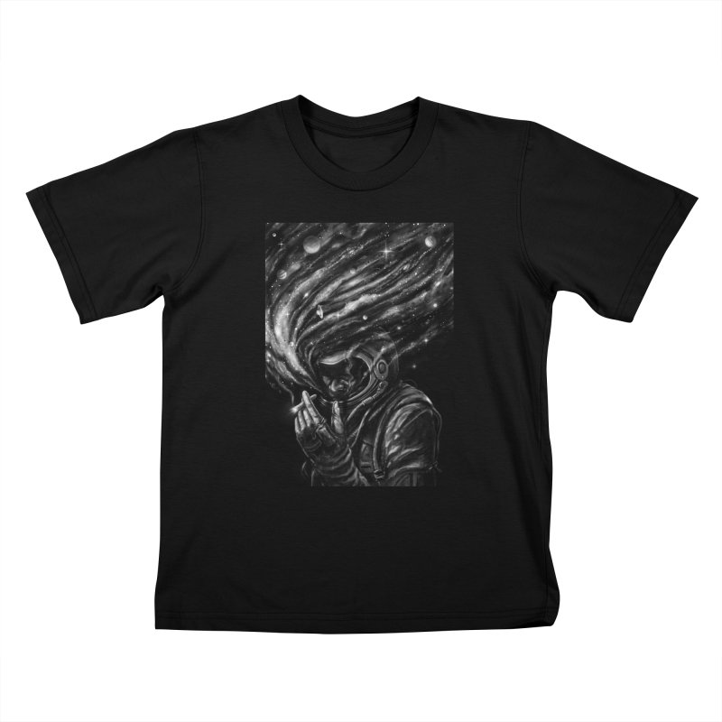 Space Joint Kids T-Shirt by nicebleed