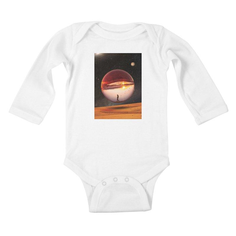 Freedom Within Kids Baby Longsleeve Bodysuit by nicebleed