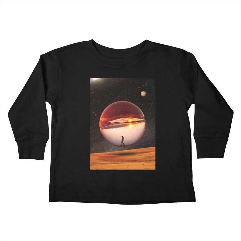 Freedom Within Kids Toddler Longsleeve T-Shirt by nicebleed