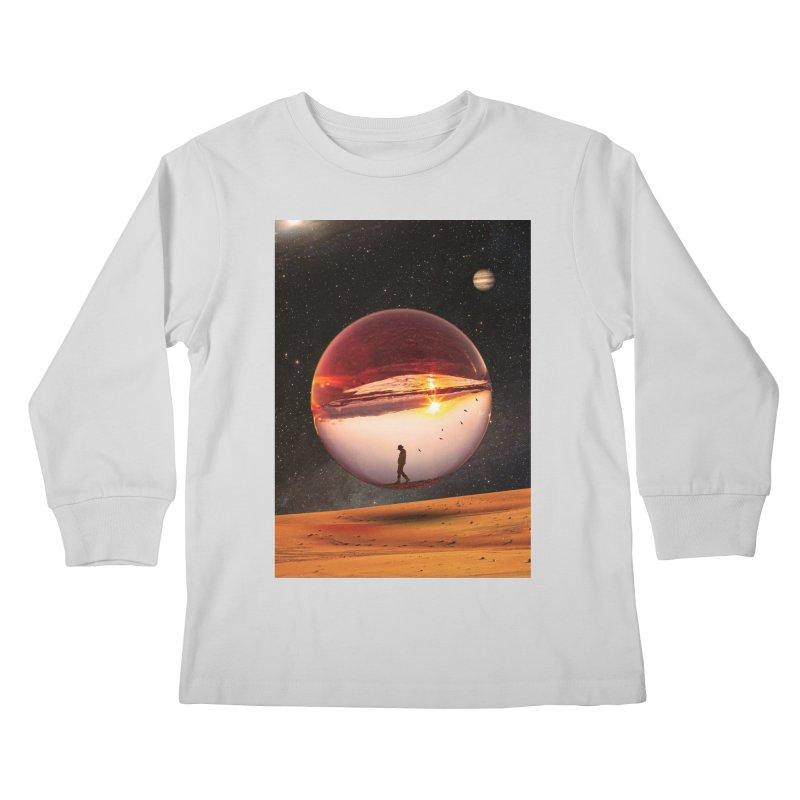 Freedom Within Kids Longsleeve T-Shirt by nicebleed