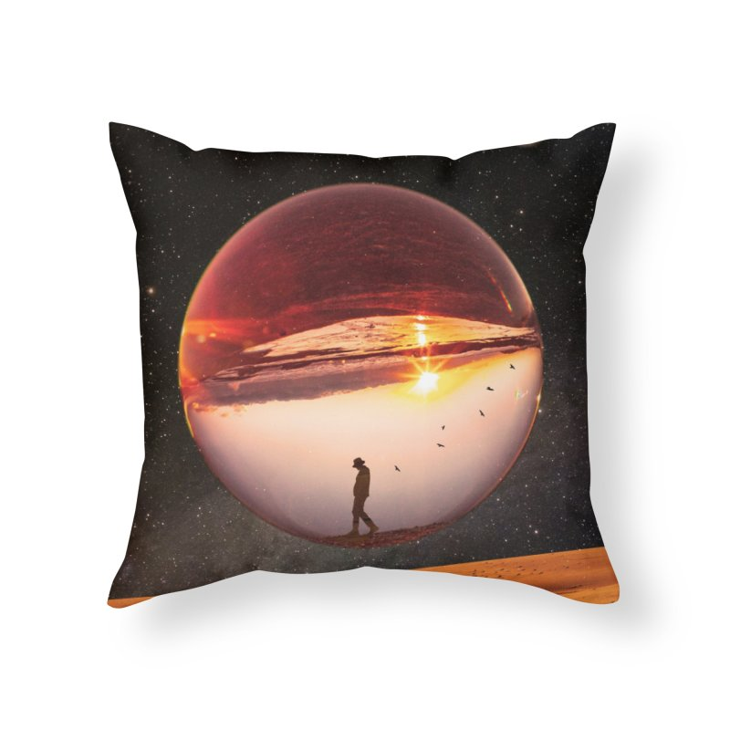 Freedom Within Home Throw Pillow by nicebleed