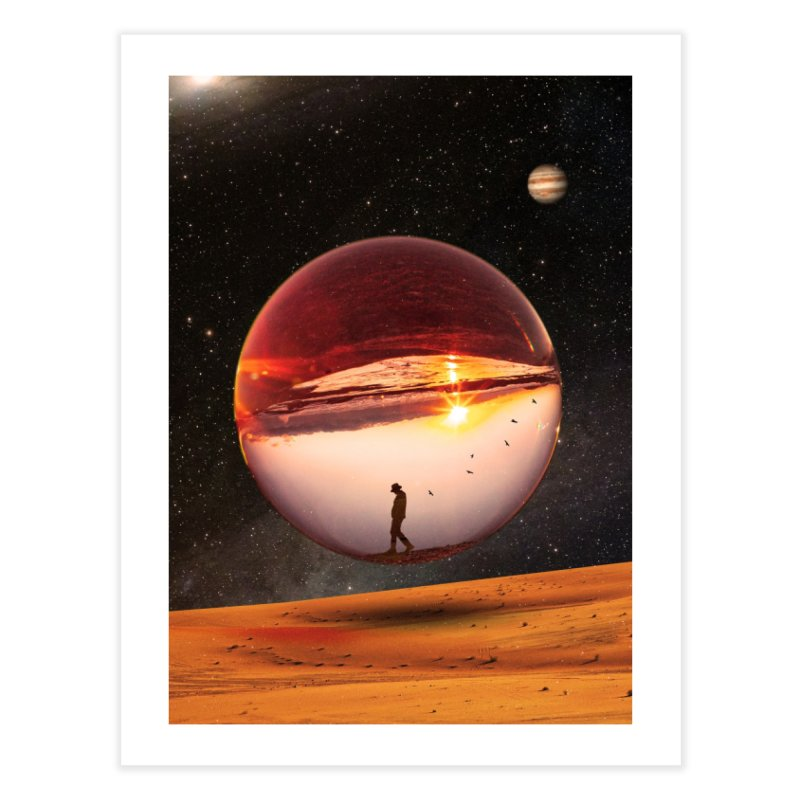 Freedom Within Home Fine Art Print by nicebleed