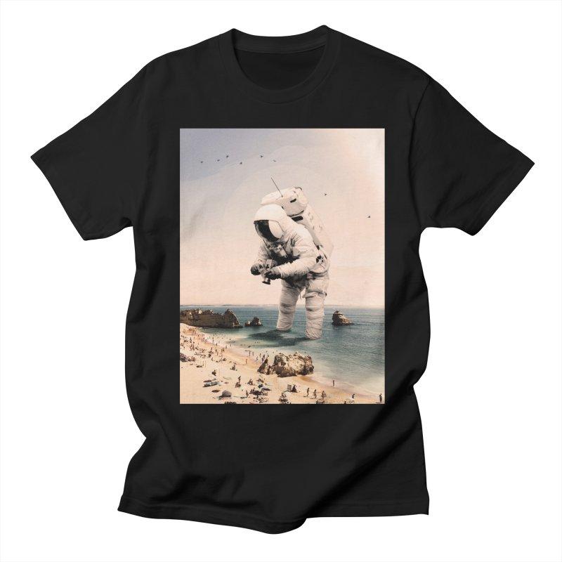 The Speculator in Men's Regular T-Shirt Black by nicebleed