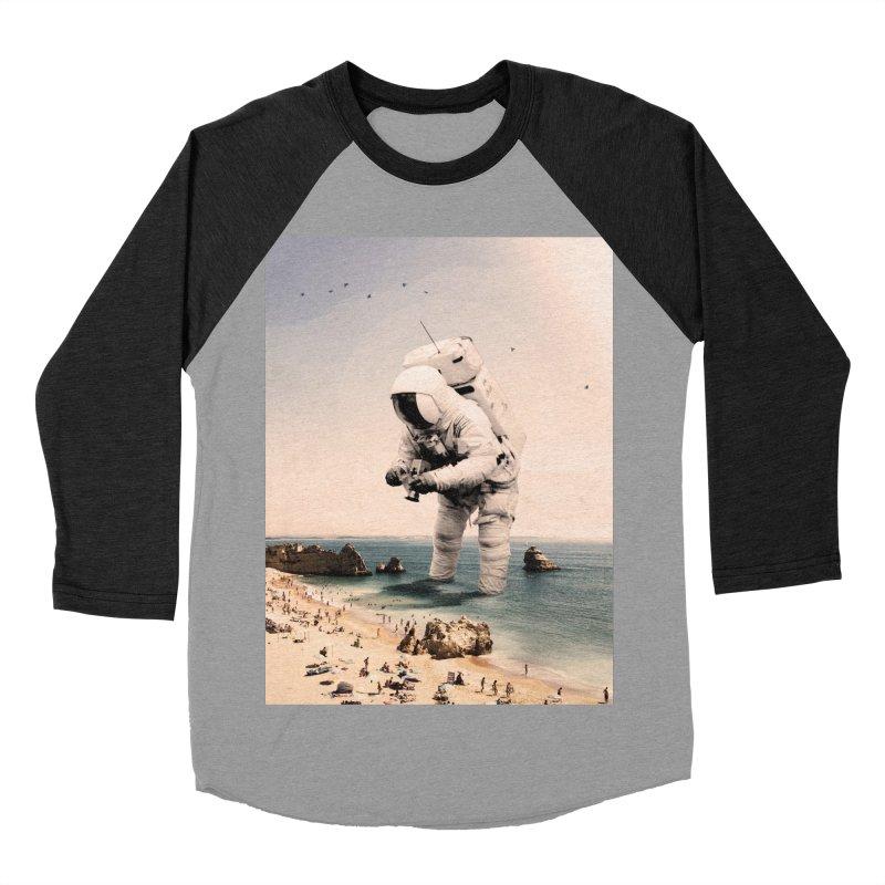 The Speculator Women's Baseball Triblend Longsleeve T-Shirt by nicebleed
