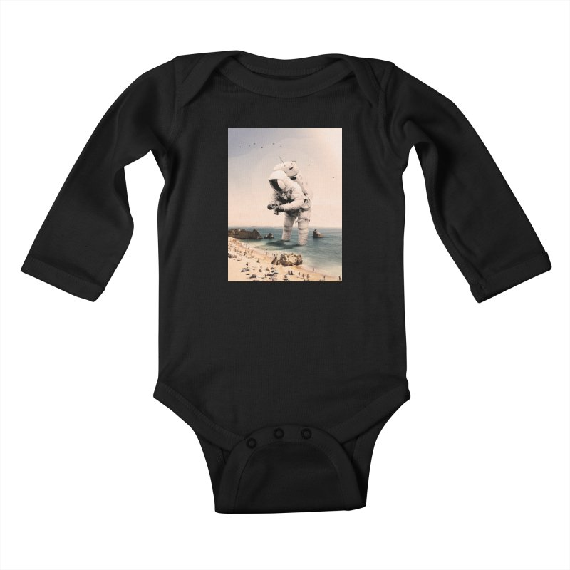 The Speculator Kids Baby Longsleeve Bodysuit by nicebleed