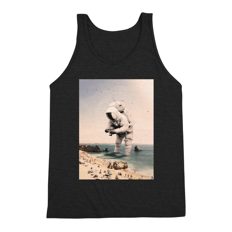 The Speculator Men's Triblend Tank by nicebleed