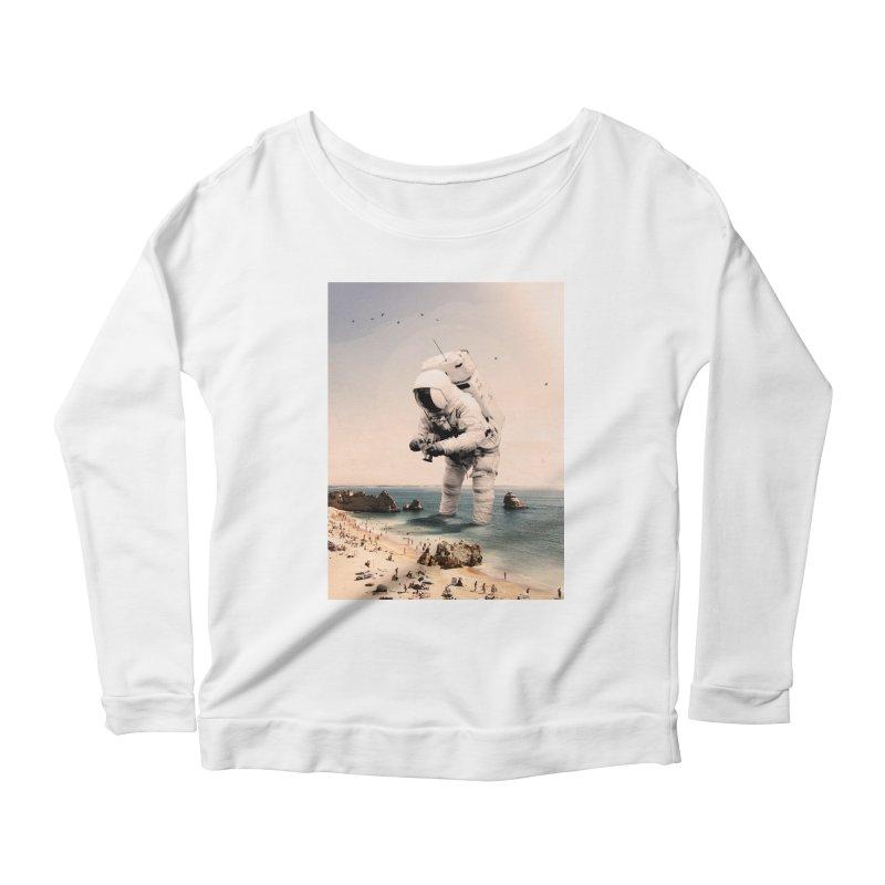 The Speculator Women's Scoop Neck Longsleeve T-Shirt by nicebleed