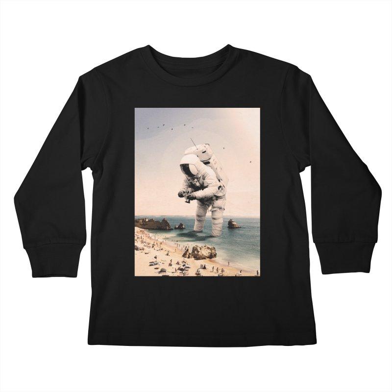The Speculator Kids Longsleeve T-Shirt by nicebleed