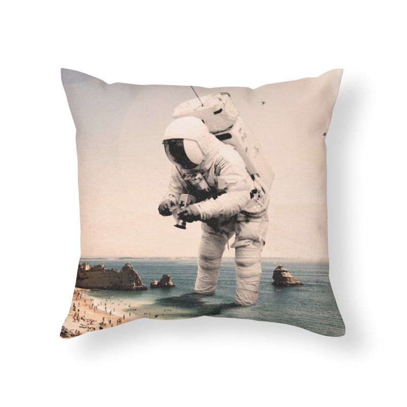 The Speculator Home Throw Pillow by nicebleed