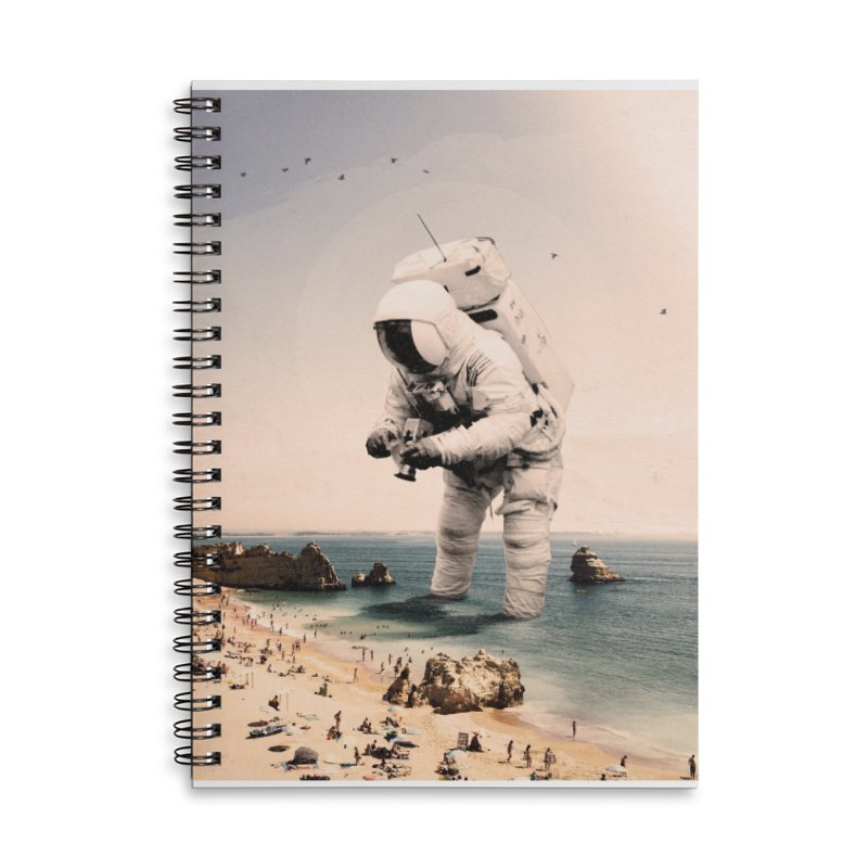 The Speculator Accessories Lined Spiral Notebook by nicebleed